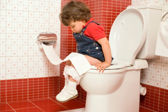 You don't have to toilet train-Not Being A Parent Can Be Quite Good