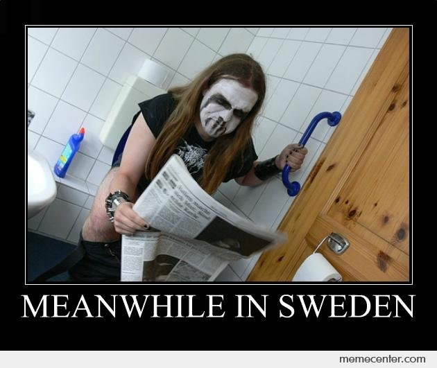 A scary toilet-Best Meanwhile In Sweden Memes