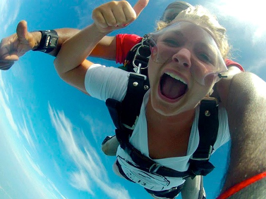 Sky Diving-Most Expensive Sports In The World