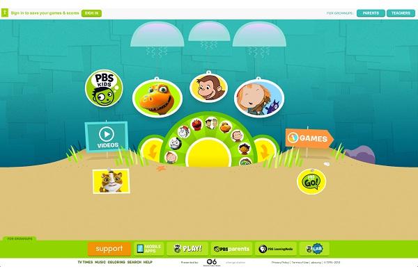 Pbskids.org-Best Educational Websites For Kids