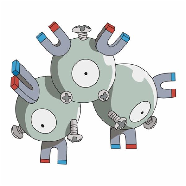 Magneton-15 Mind Blowing Facts About Pokémon