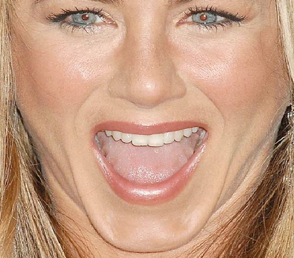 Jennifer Aniston-Weird Celebrity Closeups