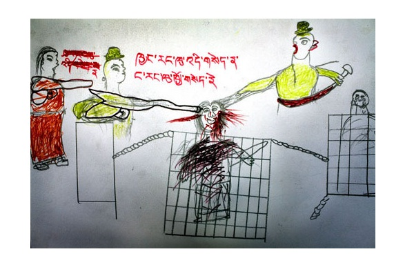 Horrific-12 Most Disturbing Drawings By Kids