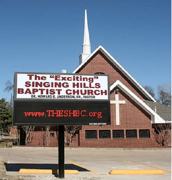 The Exciting Singing Hills Baptists Church-Bizarre Church Names
