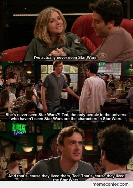 Star Wars-12 Best How I Met Your Mother Memes