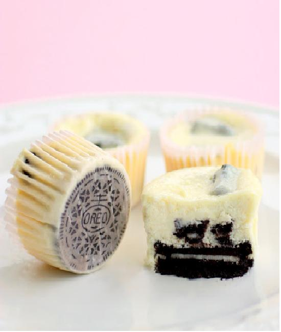 Cream cheesecake-Creative Oreo Desserts