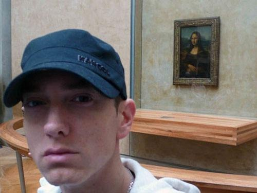Eminem-Bizarre Celebrity Selfies
