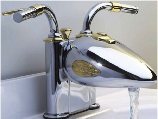 Motorcycle Faucet-Coolest Faucets