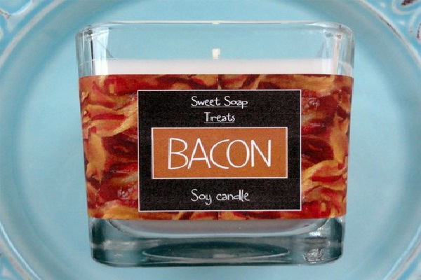 Bacon-Most Bizarre Scented Candles