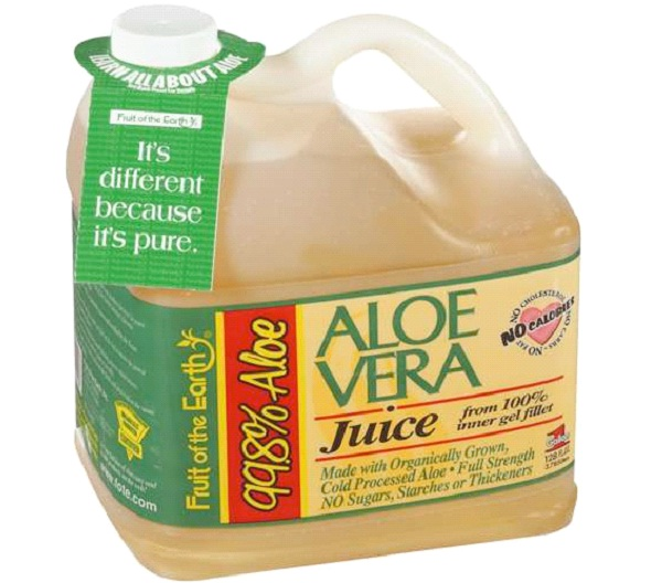 Aloe Vera Juice-Top Remedies To Cure Heartburn