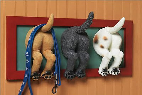 Wiggly Tails-Craziest Wall Hooks
