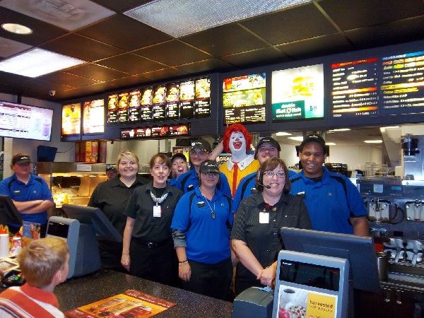 Lots of employees-Mind Blowing Facts About McDonald's