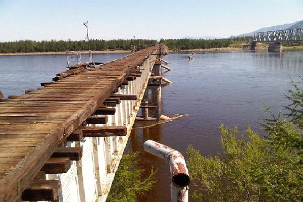 Vitim River Bridge - Russia-Most Extreme Bridges Around The World