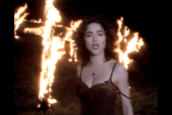 Like a Prayer-Most Controversial Music Videos Ever
