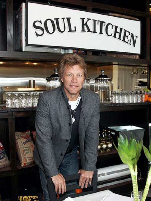 Jon Bon Jovi - Soul Kitchen-Celebrities Who Own Their Own Restaurants