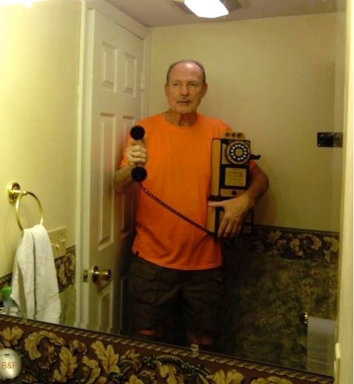 It's for you!!!-Worst Mirror Selfies Ever