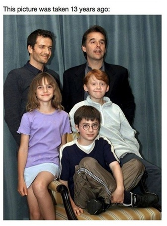Harry Potter Kids-I Feel So Old