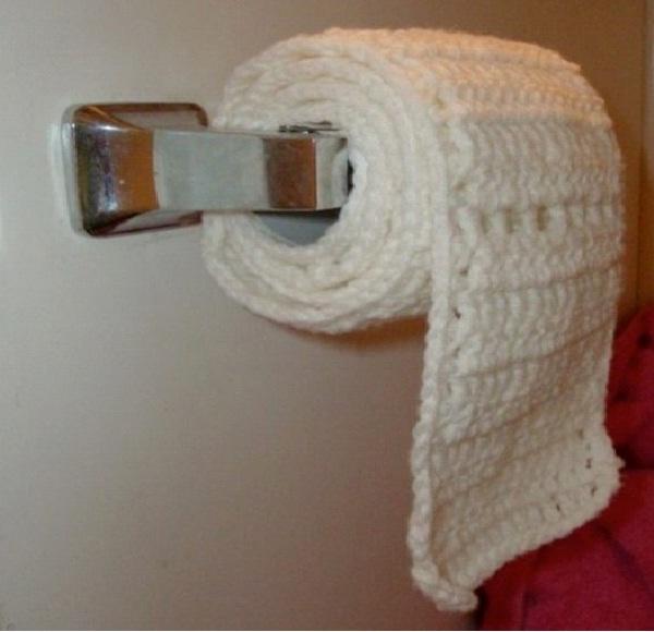 Knit-Weirdest Toilet Papers