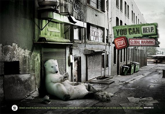 Polar bears-Most Creative Ads Ever