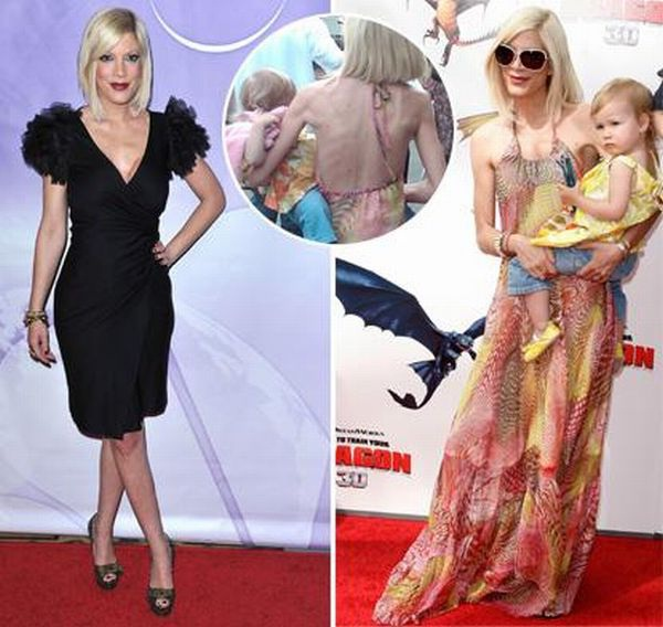 Tori Spelling-Celebs Who Lost Weight