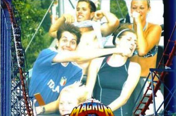 Right Hook-Hilarious Roller Coaster Moments