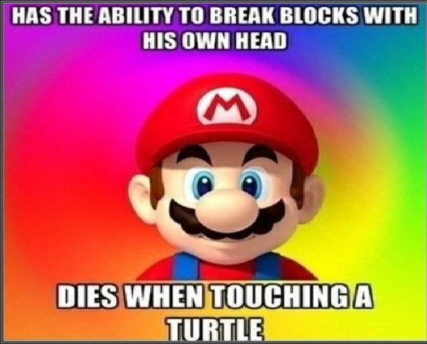 How does this work?-Worst Video Game Logic
