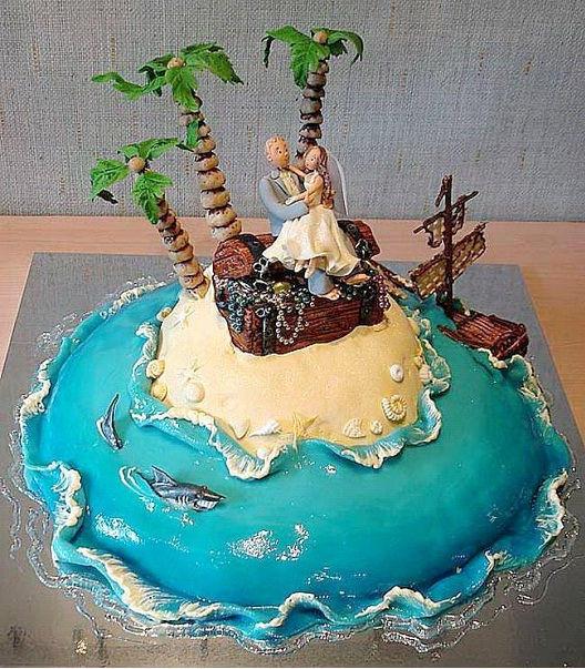 Stranded On An Island-Crazy And Offensive Cakes