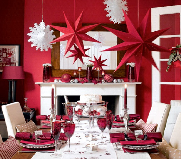 Red-Christmas Decoration Ideas