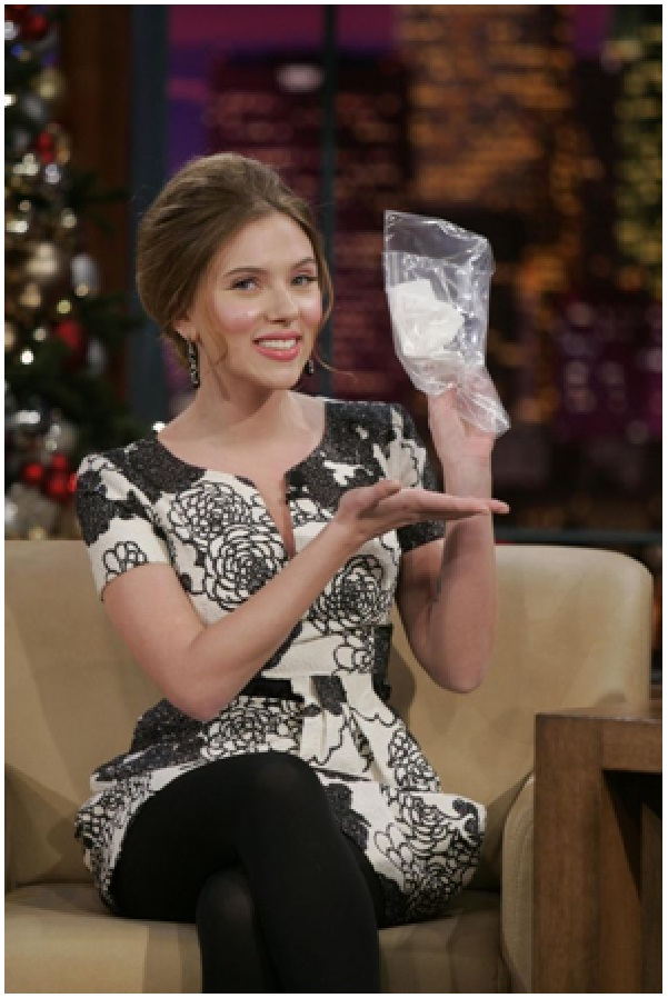 Scarlett Johansson's Snotty Tissue-Bizarre Celebrity Items Put Up For Auction
