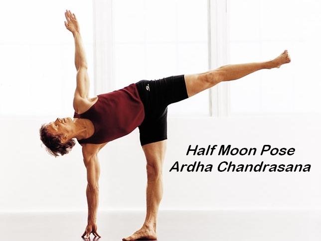 Ardha Chandraasana-Simple Yoga Poses To Lose Weight