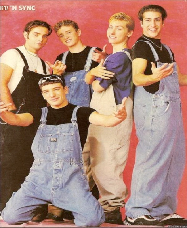 Overalls-Awesome 90's Men's Fashions