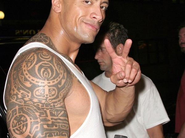Dwayne Johnson-Best Celebrity Tattoos
