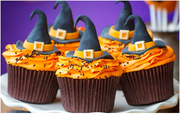 Witch Hats-Halloween Cupcakes
