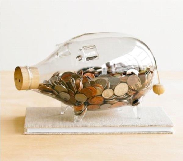 Glass Piggy-Cool Piggy Banks