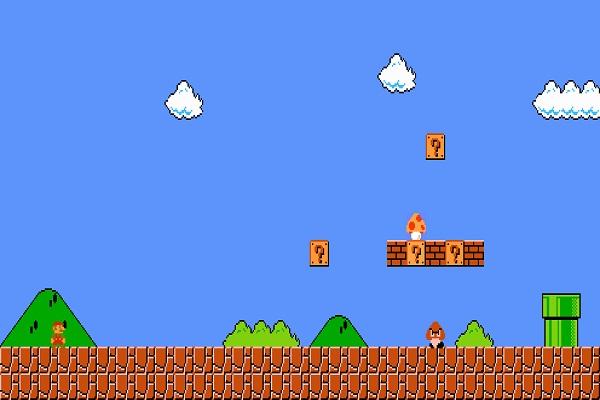 Clouds & Bushes-Video Game Trivia