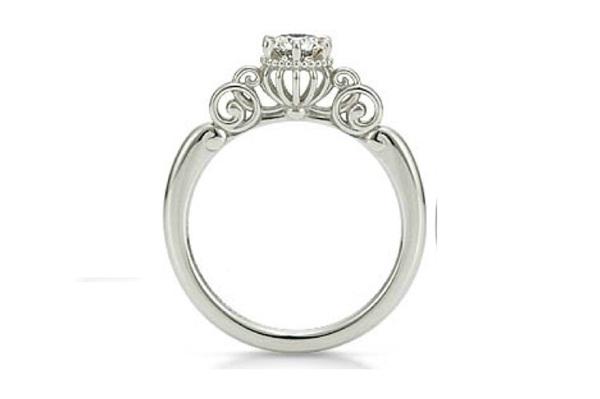 Cinderella Pumpkin Carriage Ring-Disney Engagement Rings