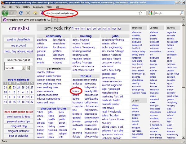 Craigslist-Best Free Classifieds Websites