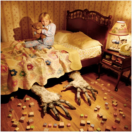 Under bed Creature-Most Disturbing Children Nightmares