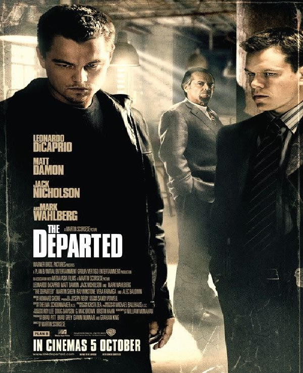 The Departed-Best Mafia Movies
