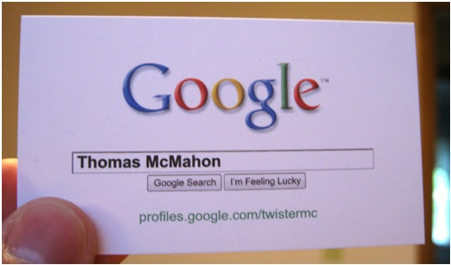 Google Me Business Card-Funniest Business Cards