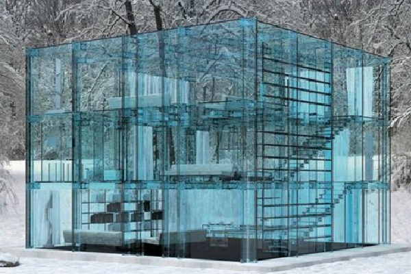 Glass Elegance and Beauty-Amazing Glass Houses