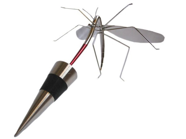 Mosquito-Creative Bottle Stoppers