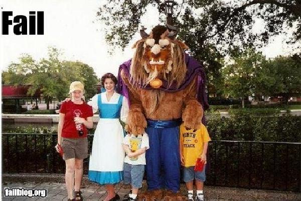 No Kids-Disneyland Fails