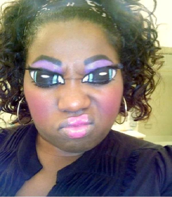 Doll Eyes-Crazy Eye Make Up