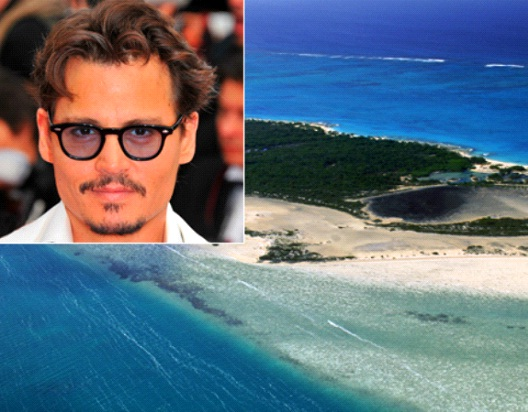 Johnny Depp-Celebrities Who Own A Private Island