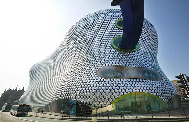 Selfridges, Birmingham-World's Craziest Buildings