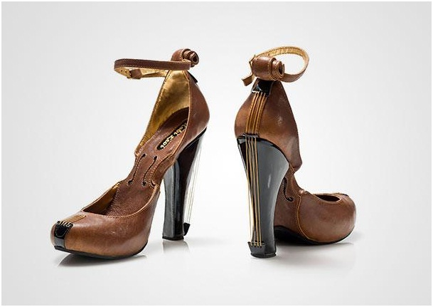 Violin Heels-Crazy Yet Creative High Heel Designs By Kobi Levi