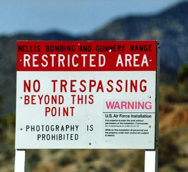 Area 51-Most Mysterious Places In The World