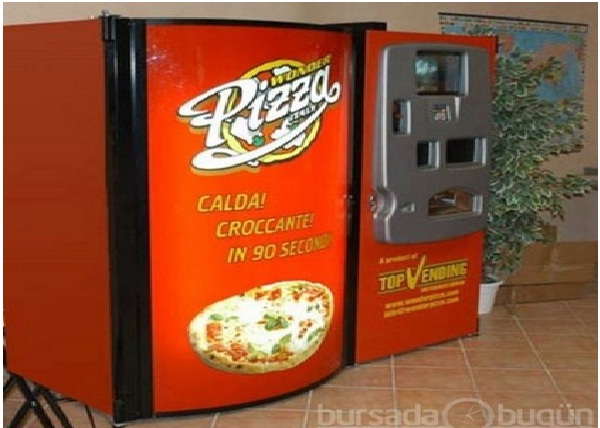 Wonder Pizza-Weird Vending Machines