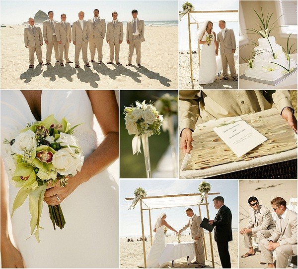 Beautiful Color Coordination-Awesome Wedding Ideas